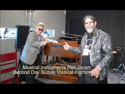 Jon Hammond Show Preview 11 26 from Tokyo Japan Funk Soul Music new XK 5 Hammond organ and B3
