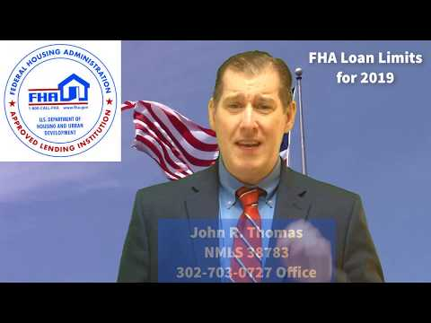 FHA Loan Limits 2019