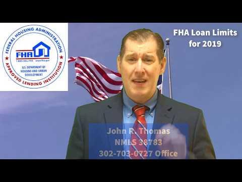 FHA Loan Limits 2019
