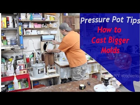 Casting Resins - Pressure Pot Tips - How to Fit Larger Molds in Your Pressure Pot Free