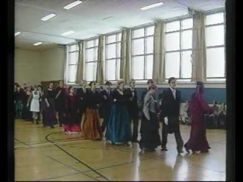 Sodankylän lukion vanhojen tanssit 1996