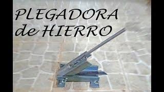 PLEGADORA DE HIERRO, pequeña pero poderosa....