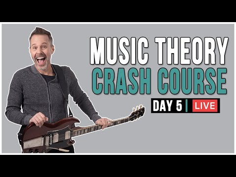 Music Theory Crash Course (Day 5) LIVE + Q&A! – Scales over Chords