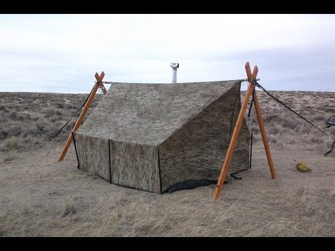 Treeless Hammock Hot Tent:  Wyoming Prairie 1