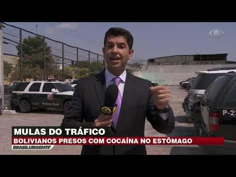 Polícia prende bolivianos que transportavam cocaína