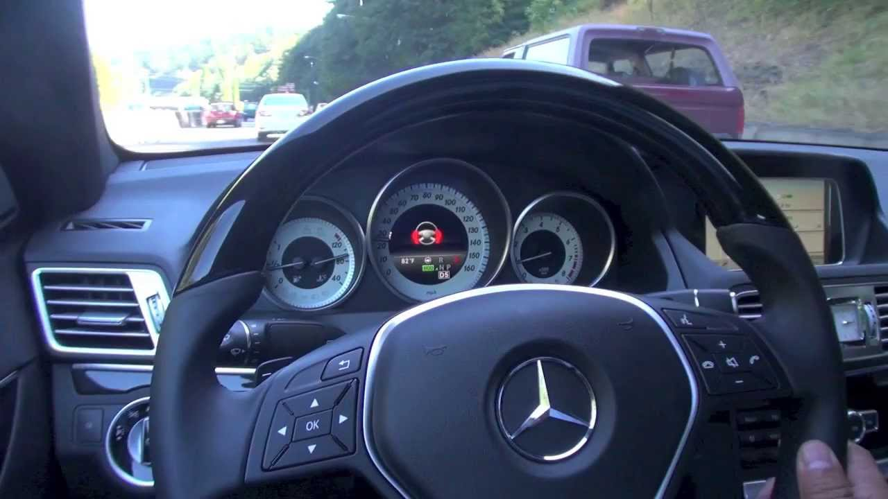 2014 mercedes benz e class distronic plus demonstration for Mercedes benz distronic plus