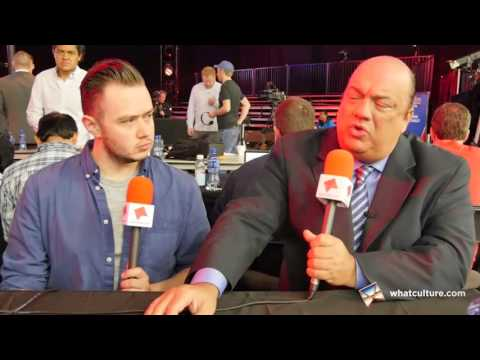 Paul Heyman Interview: WWE WrestleMania 32 - WhatCultureMania