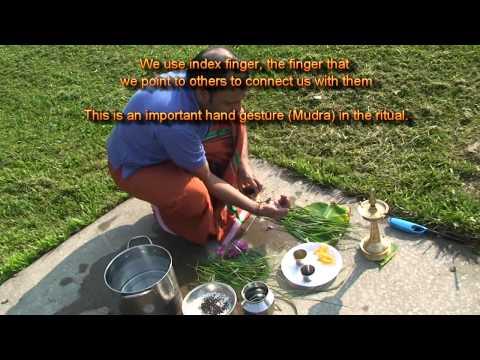 Pitru-Pooja-Bali Tharpan- Ancestor worship