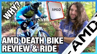 AMD Actually Made a Mountain Bike (It's Terrifying): Review, Safety Concerns, Test Ride
