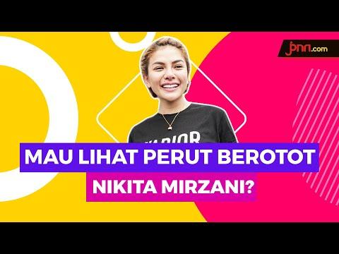 Nikita Mirzani Pamer Perut Berotot