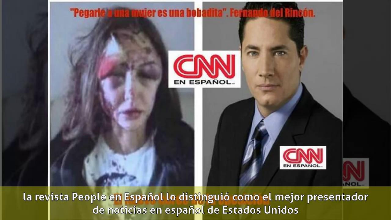 Fernando Del Rincón Periodista Biografía Youtube