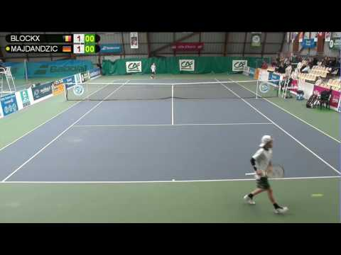BLOCKX (BEL) vs MAJDANDZIC (GER) - Open Super 12 Auray Tennis - Court 4