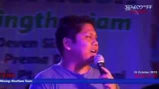 Ngaohalle Thamoise - Ranbir Thouna live on stage