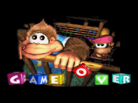 Game Over: Donkey Kong Country 3 (Game Boy Advance) - YouTube