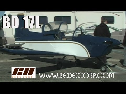 BD 17L experimental aircraft from Jim Bede Corp.