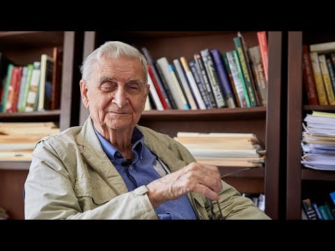 At 90, E. O. Wilson Still Thrives on Being a Scientific Provocateur