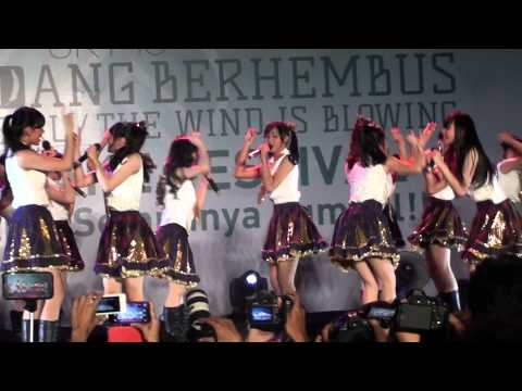 [FANCAM] JKT48  - Kiss Datte Hidarikiki at Kazewa HS Fes PRJ 28022015
