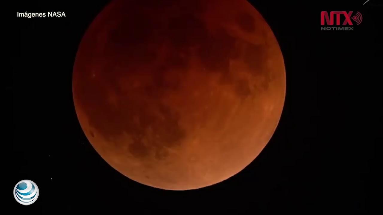 La NASA transmitió en vivo la superluna azul de sangre ...