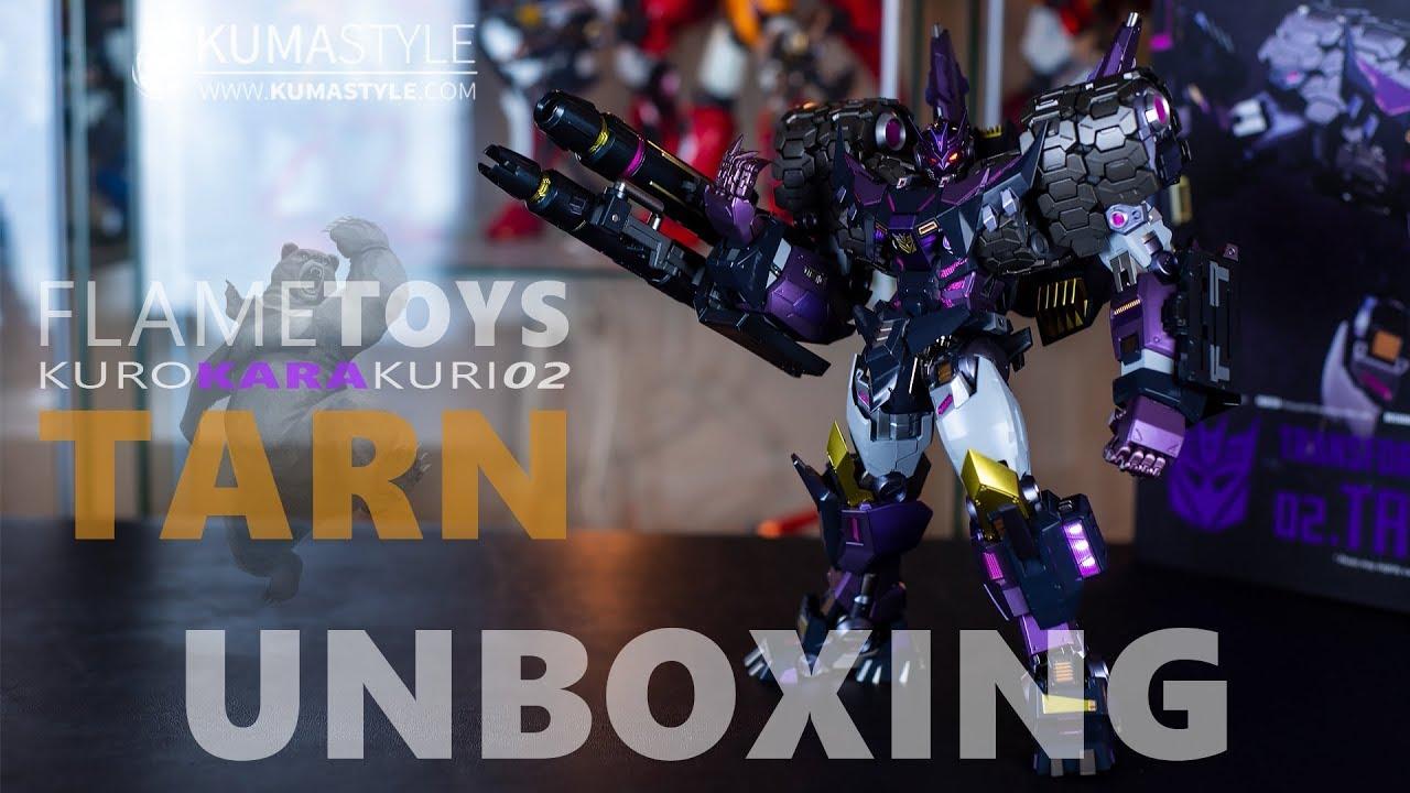 Toy Review: Flame Toys Kuro Kara Kuri 02 Tarn - Kuma Style