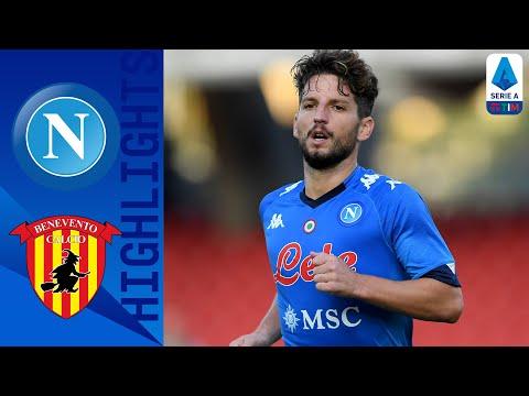 Napoli 2-0 Benevento | Gli azzurri vincono il derby campano | Serie A TIM