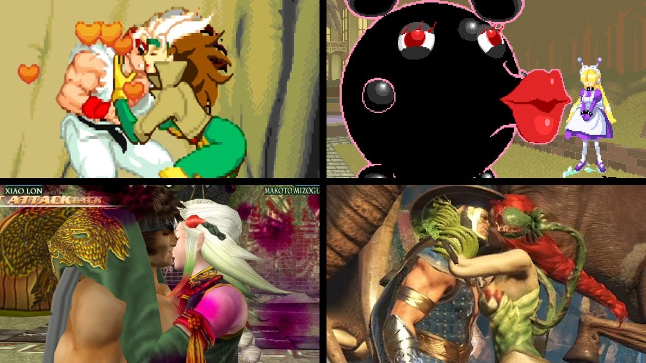 Deadly Kiss in Fighting games(Update)