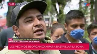 San Gregorio, Otro De Los Lugares Más Golpeados Por El Terremoto En México