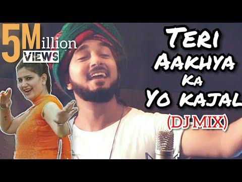 Teri Aakhya Ka Yo Kajal | DJ MIX | Sapna Chaudhary | Cover | Darpan Shah