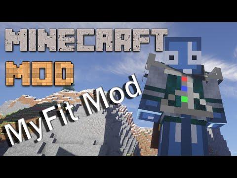 скачать мод на myfit для minecraft 1.7.10
