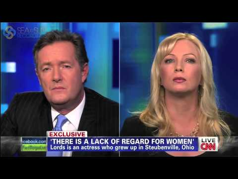 Traci Lords  Piers Morgan Live  on CNN March 14, 2013
