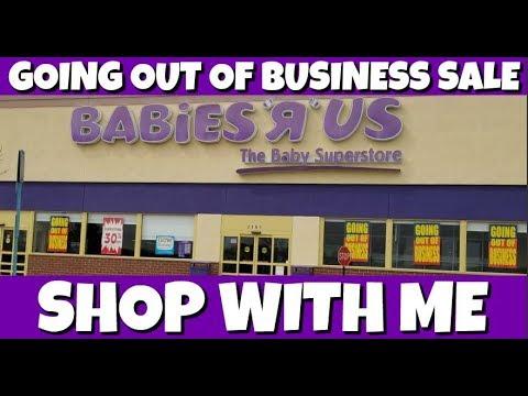 Shop With Me Babies R Us Closing Sale