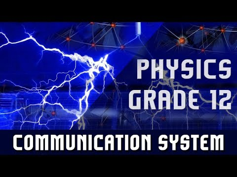 Physics(Grade 12) | Communication System | Types of communication | Devices