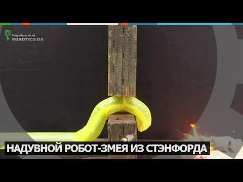 Надувной робот-змея из