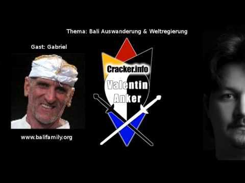 Auswanderung Bali & Weltregierung 1 Interview Gabriel CRACKER.INFO SHOW