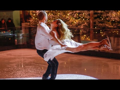 I SKATED FOR TIFFANY AND CO ON FAKE ICE!