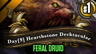 Day[9] HearthStone Decktacular #161 - Feral Druid P1