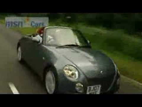MSN Cars test drive of the new Daihatsu Copen