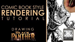 COMIC BOOK STYLE RENDERING TUTORIAL - COLLAB WITH DRAW WITH JAZZA PART 2