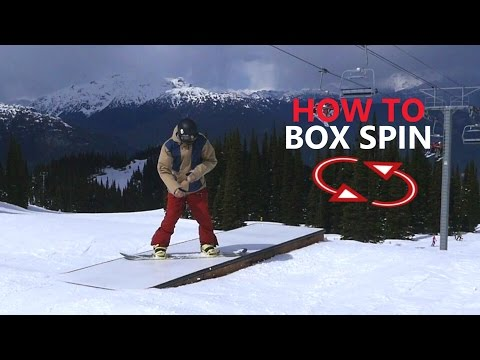 Box Spin Snowboarding Trick Tutorial