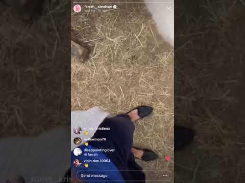 Ex Teen mom OG Ferrah says she gave her horse lip injections🤦🏻♀️ (WTF) Was it a joke?