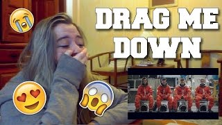 Minha reação assistindo Drag Me Down!