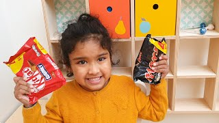 Ishfi Sells Chocolate Candy from Toyshop