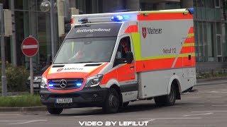 [VIEL TATÜTATA & BLAULICHT] RTWs BF, MHD, JUH, DRK | Rettungsdienst Stuttgart