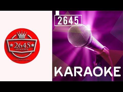 Gece Gölgenin Rahatına Bak -  Karaoke
