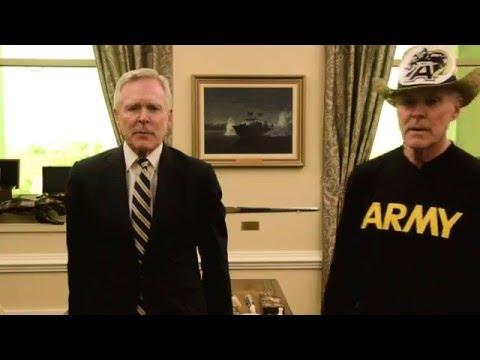 Secretary of the Navy 2015 Army Navy Spirit Spot