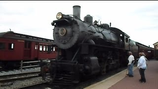 Strasburg Railroad Steam Train Ride On And Off View