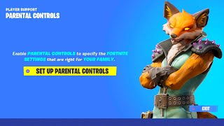 HOW TO TURN OFF PARENTAL CONTROLS ON FORTNITE! REMOVE PARENTAL CONTROLS ON FORTNITE