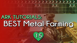 BEST METAL FARMING TECHNIQUE ON SCORCHED EARTH | TL;DR Tricks | Ark Survival Evolved SE
