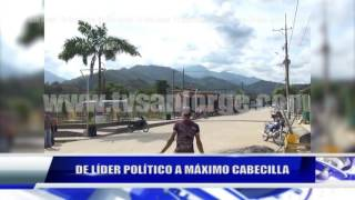 DE LÍDER POLÍTICO A MÁXIMO CABECILLA