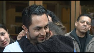 ICE RELEASE SAN JOSE MAN: Fernando Carrillo talks about his release from ICE detention