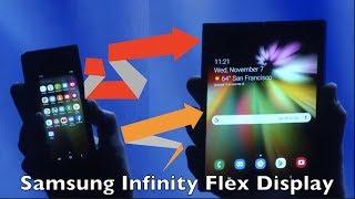 SAMSUNG Infinity Flex Display - Revelado el nuevo foldable smartphone